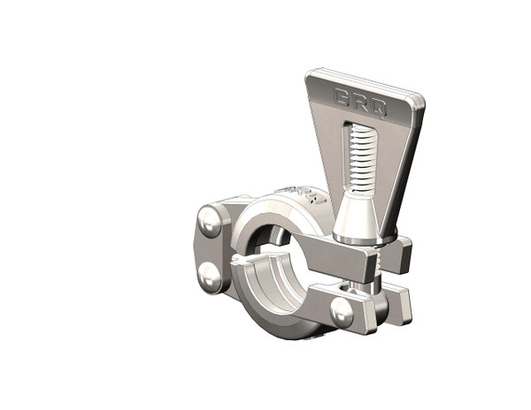Tri-Clamp Clamp, Double Pin Hinged Plate, Wingnut, GRQ, 304 Stainless Steel