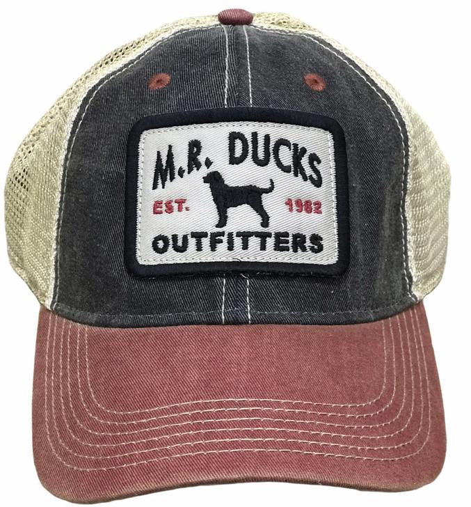 M.R. Ducks® Contender Black Lab Patch Cap