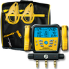 SM380vINT 2-Valve Digital Manifold with built in Data logging. Works directly with Job Link
