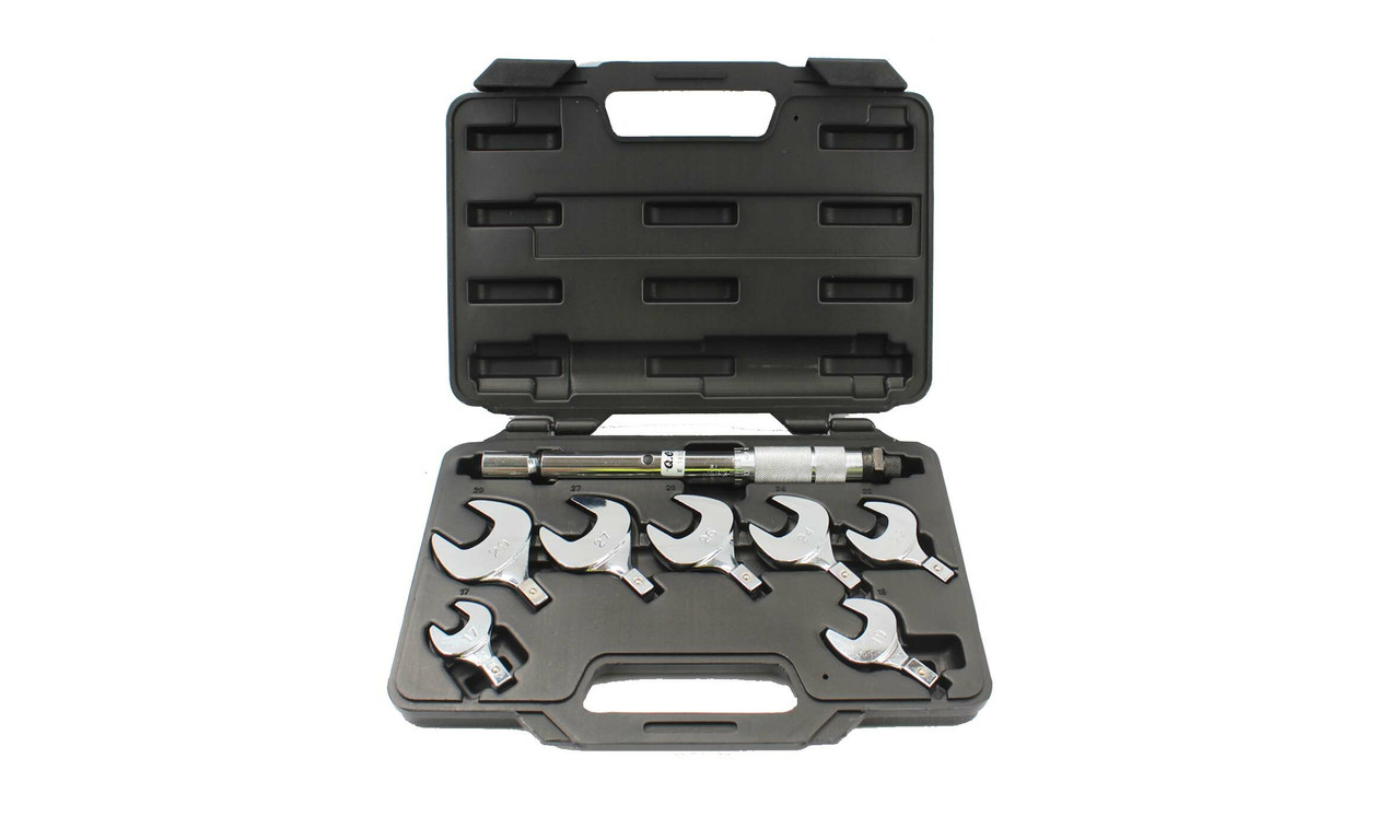 8pc Interchangeable Spanner Head Torque Wrench