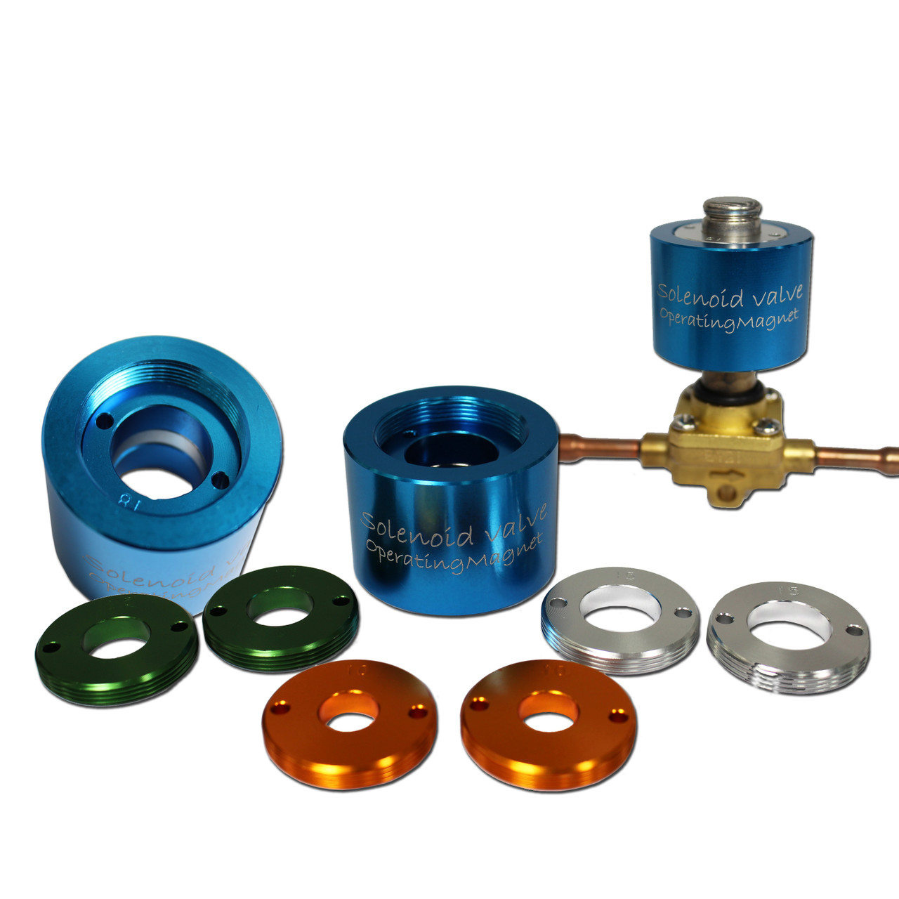 Manual Solenoid Valve Operating Magnet