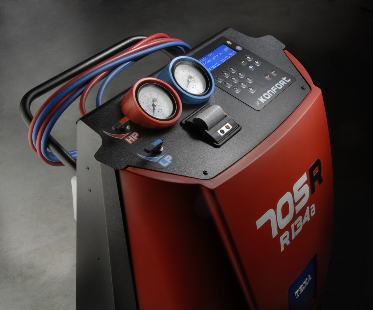 Konfort 705R Automotive Charging Machine