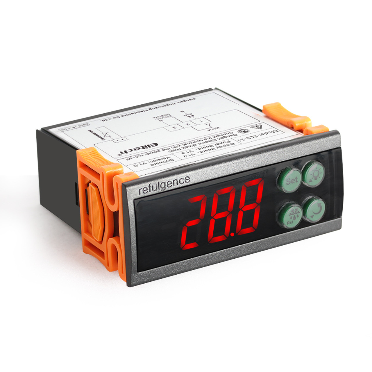 Single Compressor Relay Temperature Controller ECS-02CX