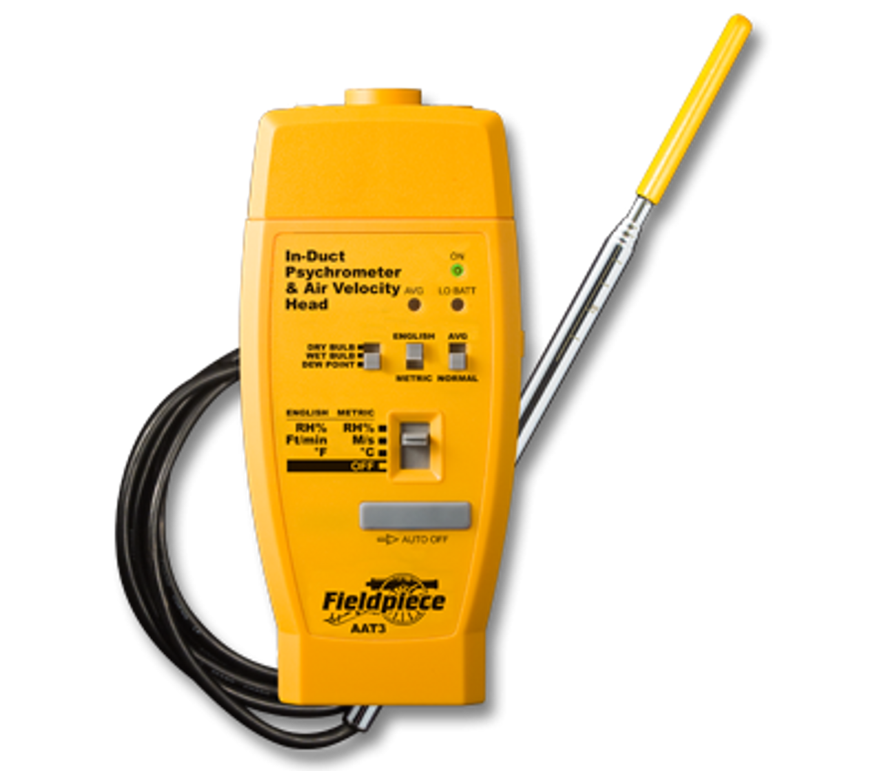 AAT3 Hot wire Anemometer & Psychrometer Accessory Head