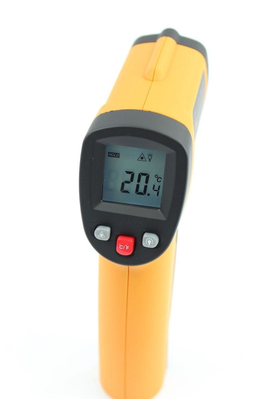 Infrared Thermometer - Laser Point Accuracy