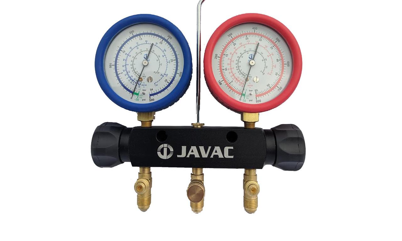 Javac 2 Valve Manifold - Suitable for R410a/R32