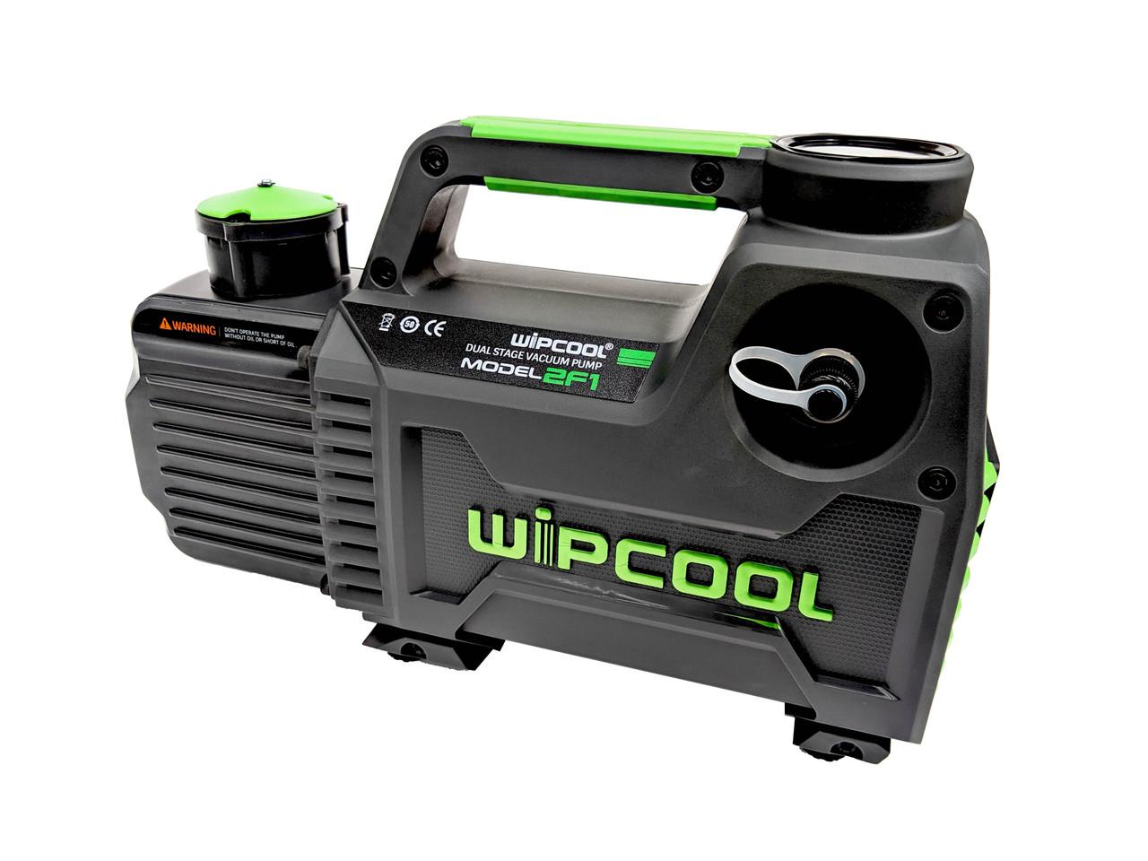 """Dual Stage Vacuum Pump - 85L - Inbuilt Solenoid Valve - 1/4"""", 3/8"""" SAE"""