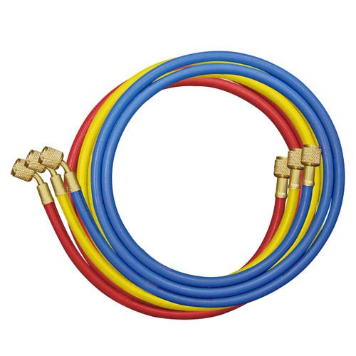 3pc Charging hose set - 72 inch 5/16th SAE