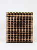spring Mason bee wood tray 96 hole front view