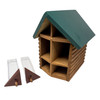 Cabin Bee House with Hatchery