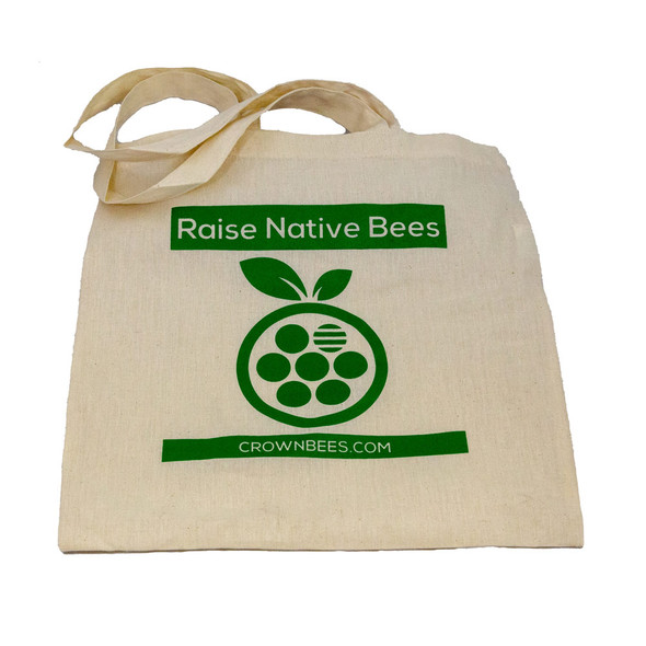 Crown Bees Cotton Tote