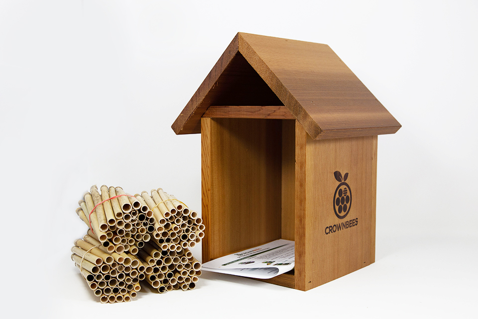 Tower Bee House & Nesting Materials Combos Dual Season Reeds