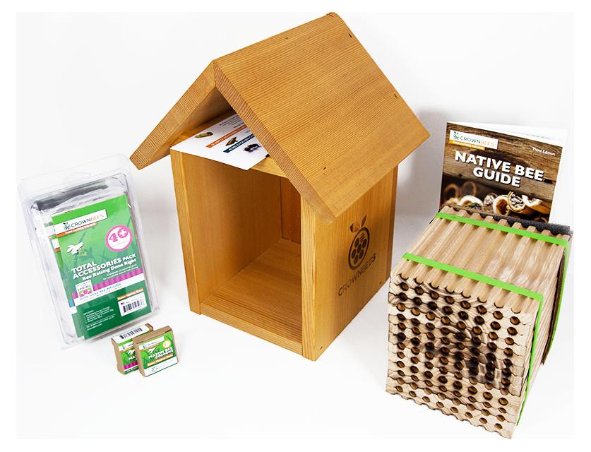 Tower Spring season kit with 96-hole wood tray TRNSP