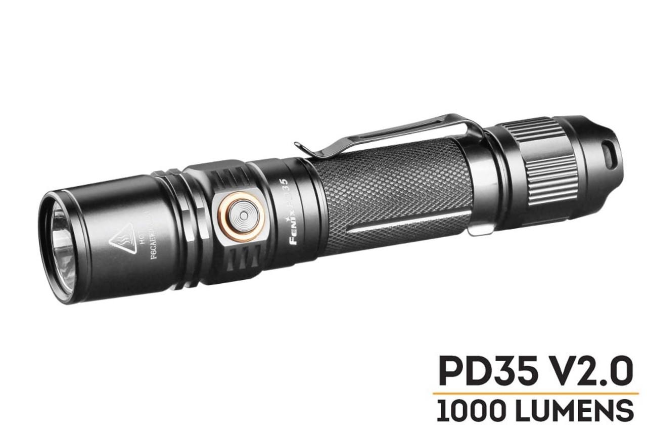 Fenix PD35 V2 0 LED Flashlight - Best Flashlight | 1000 Lumens