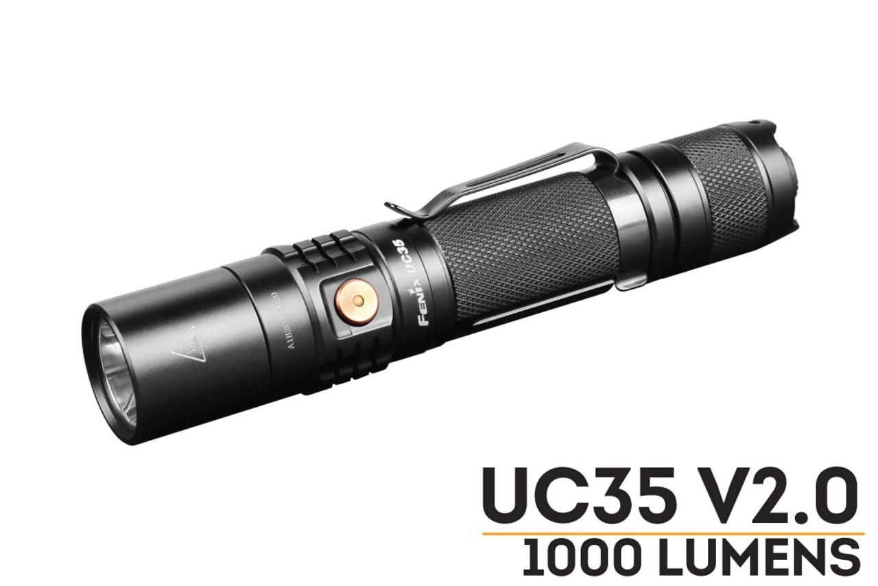 Fenix UC35 V2 0 LED Rechargeable Flashlight - Best EDC Flashlight