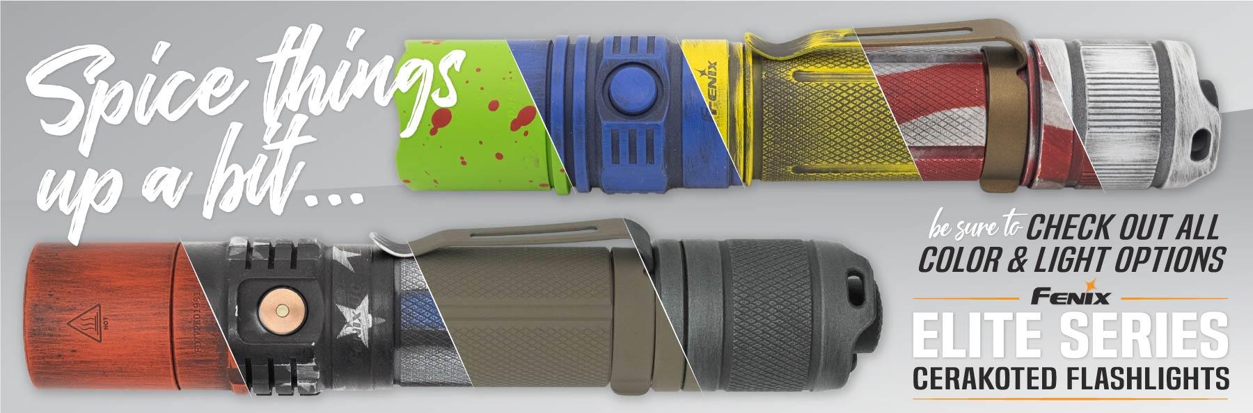 Fenix Patriot Design Flashlights