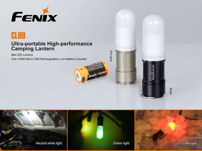 Fenix CL09 Emergency Light Mini Lantern