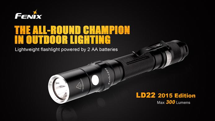 Fenix ld22 edc flashlight