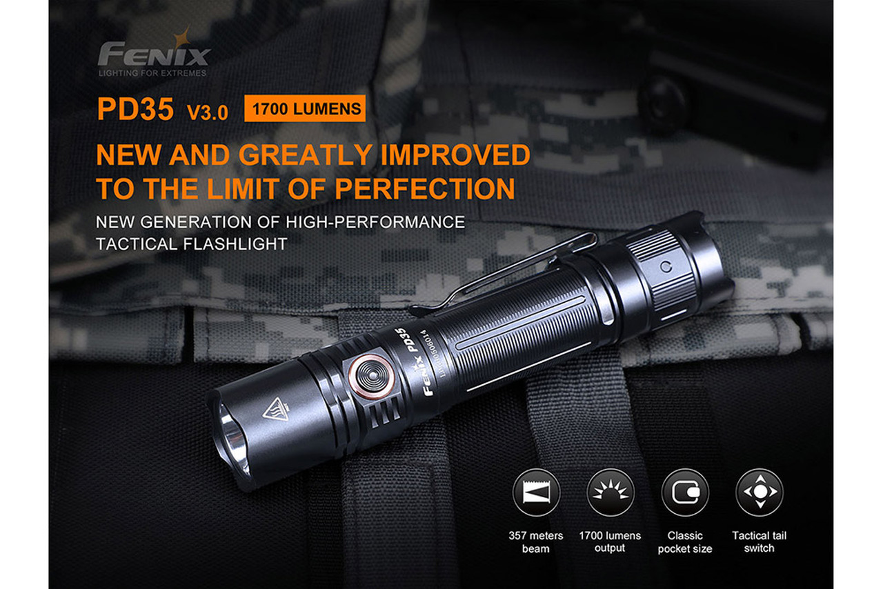 Fenix PD35 V3 EDC Flashlight