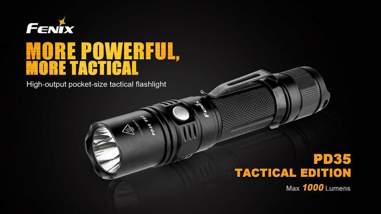 Fenix PD35 TAC tactical flashlight