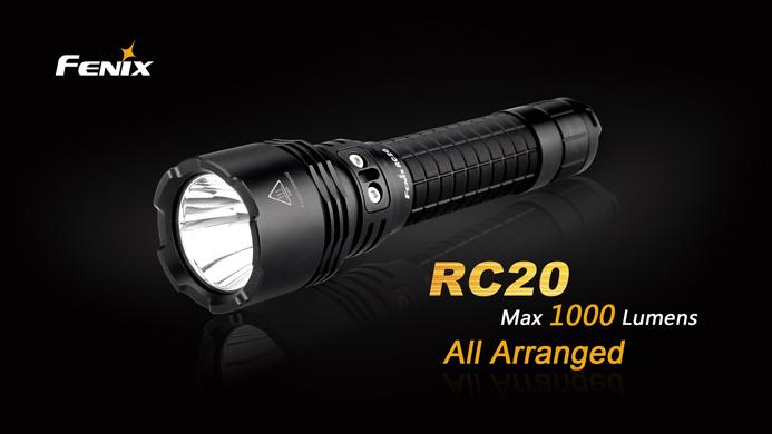 Fenix RC20 Rechargeable Flashlight Emergency Light