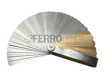 Calibrador magnético y normal 36 hojas 0.002 - 0.035