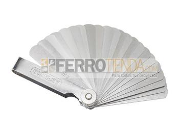 Calibrador métrico 25 hojas  0.0015-0.03