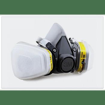 Mascarilla  6200 con filtro 6003 con retenedores y filtros
