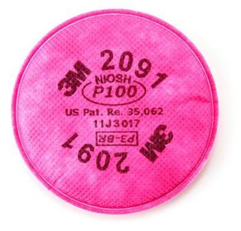 Filtro Rosado P100 2091  (Par)
