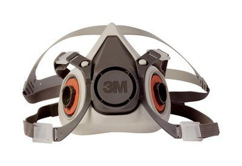 Respirador de Media Cara Reutilizable Serie 6200, Protección Respiratoria, (6100S, 6200S, 6300S)