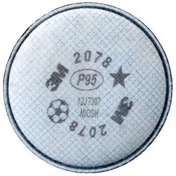 Filtro 3M® 2078 para Particulas y Niveles Molestos de Ozono, Gases y Vapores. NIOSH P95.