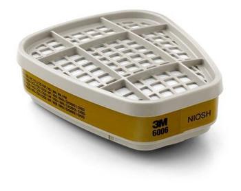 Cartucho Multi Gas Ácido / Vapor Orgánico 3M™, protección respiratoria 60/caja 6006