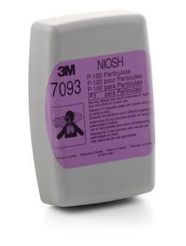 Cartucho filtro Particulate Filter 7093 , P100 Respiratory Protection 144 EA/Case