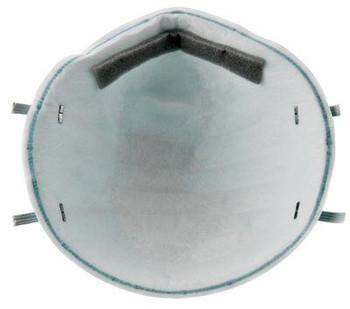 Respirador de partículas y mascarilla quirúrgica 3M ™ Health Care 1860, N95 120 EA / Estuche