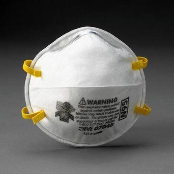 Respirador de partículas 3M ™ 07048, N95 20 EA / Estuche