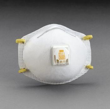 Respirador de partículas 3M ™ PN 07185/8511 N95