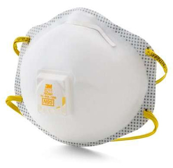 Respirador de partículas 3M ™ 8211, N95 80 EA / Estuche