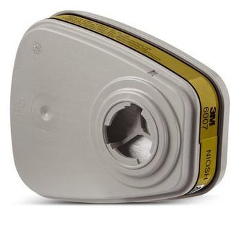 Cartucho de vapor de mercurio 3M ™ / vapor orgánico / gas ácido 6007, 60 EA / estuche