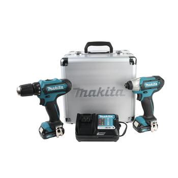 * Atornillador de impacto TD110D. * Diseño compacto y ergonómico. * Ideal para trabajar en espacios reducidos. * Diseño de batería CXT™ 12V max permite que la herramienta se pare por sí misma para conveniencia del usuario.