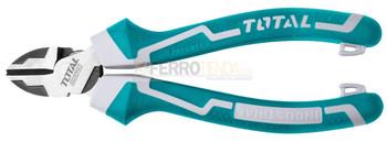Alicate cortafrio m/Largo Caucho Industrial TOTAL 7''