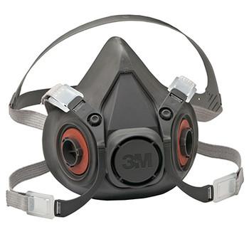 Respiradores de Media Pieza Facial Serie 6300S, Talla L  3M