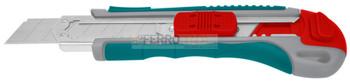 Estilete plastico TOTAL Hojas de 18mmx100mm c/camara retractil 4rptos