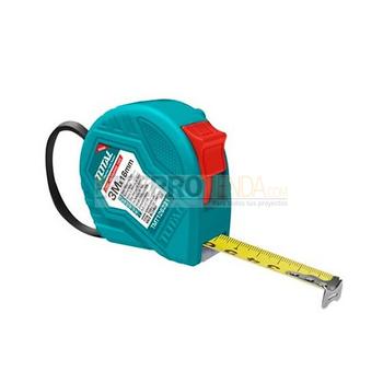 Flexometro de ABS TOTAL Metros/Pulgada 3Mx16mm