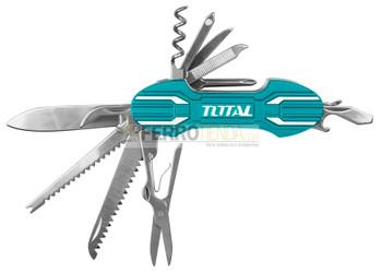 Navaja Multifuncion TOTAL 95mm 15 en 1