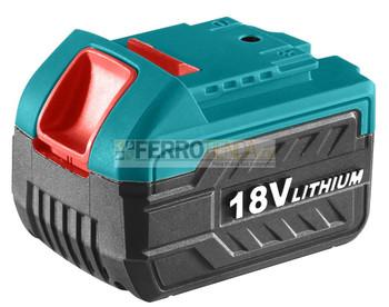 Bateria 18 V TOTAL iones de litio compatible taladro UTDLI228180- UTIDLI228180