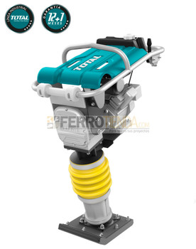 Apisonadora 5.5 HP Industrial TOTAL 33x29cm 10 joules motor HONDA