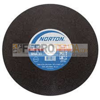 Disco corte Norton BNA 32  plano general
