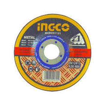Disco desbaste Ingco MGD601151 4 1/2 x 1/4 x 7/8