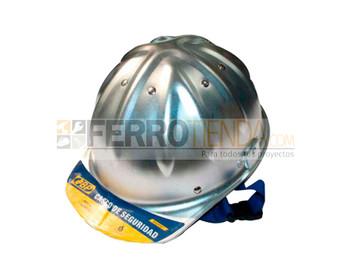 Casco de seguridad industrial metálico
