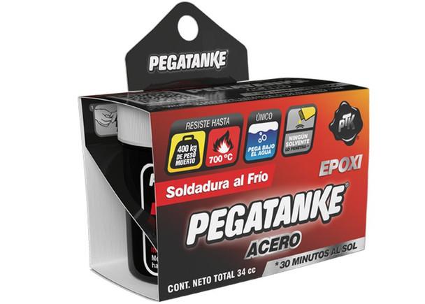PEGATANKE ACERO 44 CC